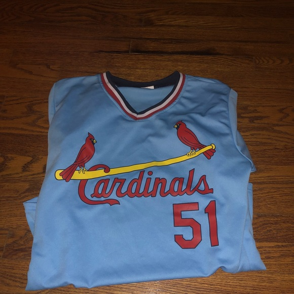 finest selection ba32e a7251 St. Louis Cardinals McGee Throwback Jersey